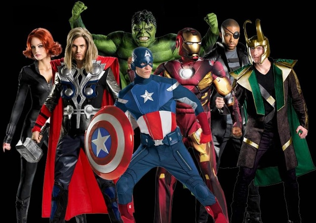 avengers  sc 1 st  The Roaring Times & Top 5 Halloween Costumes 2015 u2013 The Roaring Times