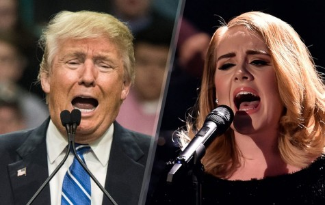 Donald Trump Gets a Hello From Adele