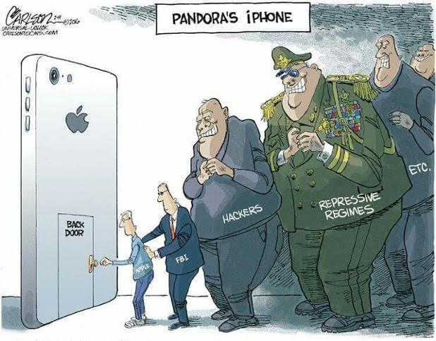 Break Down Apple Vs Fbi The Roaring Times