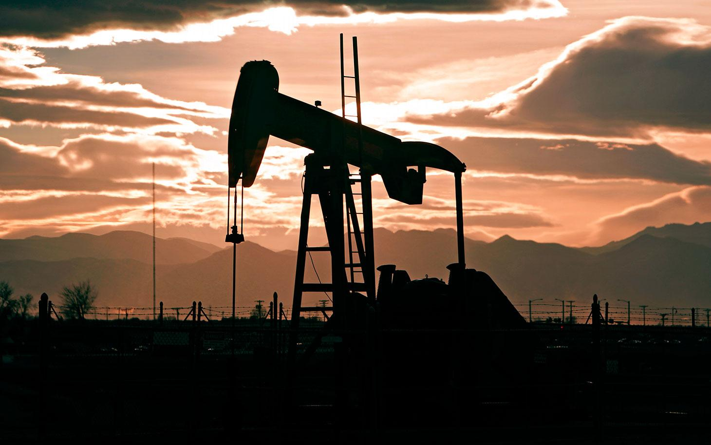 A fracking well in Colorado, pictured in 2012