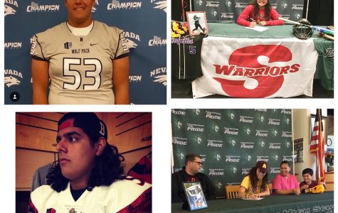 PHS Athletes Fulfill Their Dreams of Becoming College Athletes