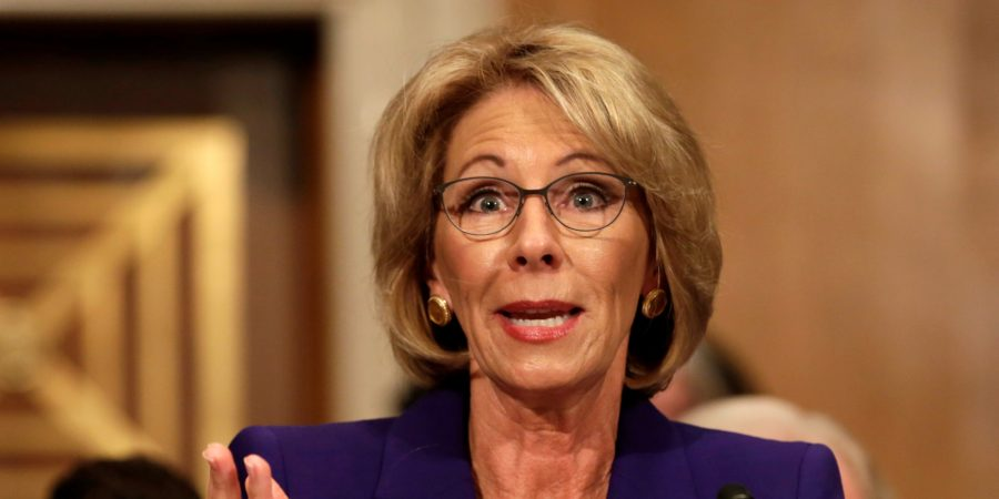 Betsy+DeVos+testifies+before+the+Senate+Health%2C+Education+and+Labor+Committee+confirmation+hearing+to+be+next+Secretary+of+Education+on+Capitol+Hill+in+Washington%2C+U.S.%2C+January+17%2C+2017.+REUTERS%2FYuri+Gripas