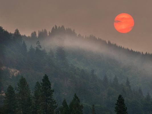 Oregon's Summer This Year: Hot and Filled with Smoke
