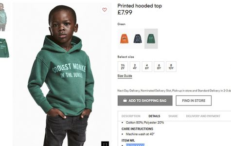 H&M in Hot Water after Hoodie Controversy