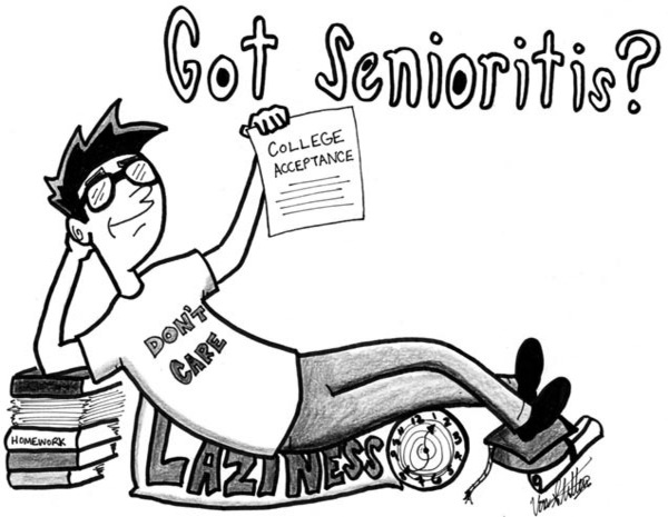"""""""Senioritis"""": Is it real and are you infected?"""