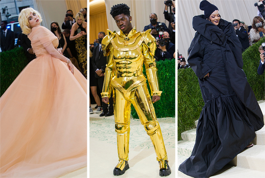 Iconic Looks at the Met Gala