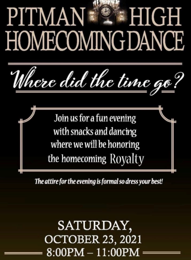 Pitman High School's Homecoming Week 2021