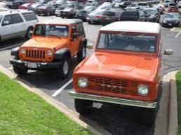 Jeep vs Bronco